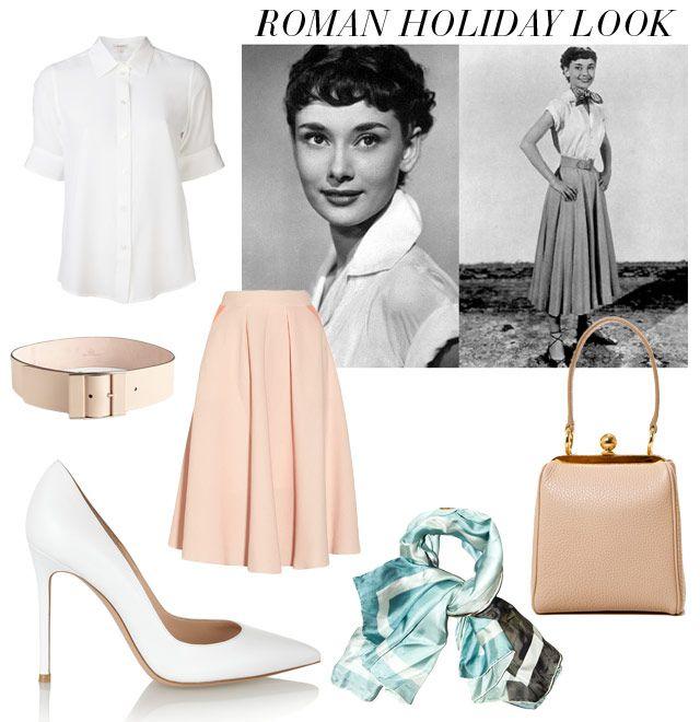 157a544c39795a0a243af2fc866b3f6d Audrey Hepburn Roman Holiday Fashion Tribute